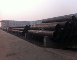 LSAW Steel Pipes Manufacturing Process