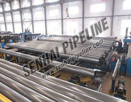 Application of Chlorinated Rubber Paint Pipe